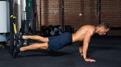 The 10-Minute TRX Push-Pull-Core-Circuit Bodyweight Workout thumbnail