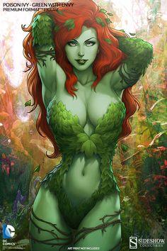DC Comics Gotham Sirens: Poison Ivy Premium Art Print by Sid Marvel Dc Comics, Buy Comics, Hq Marvel, Dc Comics Art, Comics Girls, Comic Book Characters, Comic Character, Comic Books Art, Comic Art