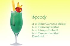 For the next children's pool party or children's birthday we have super delicious recipes for colorful non-alcoholic cocktails, for example for the Speedy. Non Alcoholic Cocktails, Summer Cocktails, Fruit Cocktail Drink, Recipe Fo, Halloween Drinks, Vegetable Drinks, Food Humor, Fruit Recipes, Fun Desserts