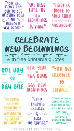 Quotes about new beginnings and fresh starts USe these free printable quotes about new beginnings as inspiration for your fresh start, no matter how big or small! Habit Quotes, Life Quotes, Quotes Quotes, Positive Quotes, Motivational Quotes, Life Inspirational Quotes, Uplifting Quotes, Nurses Week Quotes, Discover Quotes