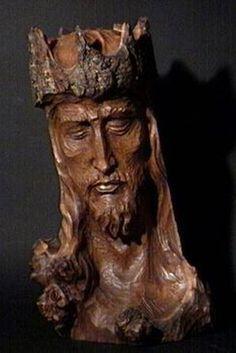 Christ the King (1968). Jean Julien Bourgault. Sculpture. © Musée de la civilisation