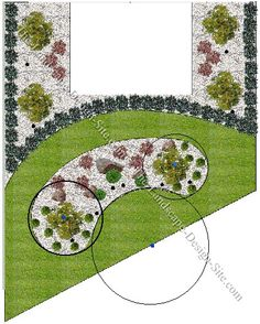 Learn how to make radius points in landscape design plans