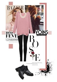 """""""Yoins Sweater"""" by katerina-rampota ❤ liked on Polyvore featuring ファッション, Forever 21, women's clothing, women, female, woman, misses, juniors, yoins と yoinscollection"""