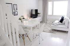White living room   Home Vanilla interior