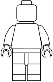 Emmet is a construction worker Lego minifigure He will fight to