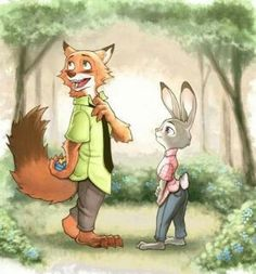 Nick and Judy Marriage  Proposal