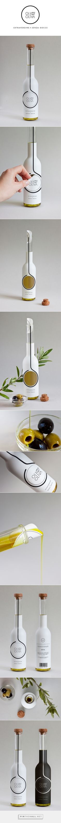 OLIO D'OLIVA on Behance by Alessia Sistori curated by Packaging Diva PD. Since there was passed a new law in some countries of europe, that no longer allows offering refillable oil bottles in restaurants, she invented this interactive packaging for extra virgin olive oil.