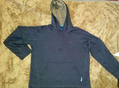 Reebok Fleece 1/2 zip hood Jacket Play Warm Performance coat Black size M Men #Reebok #CoatsJackets