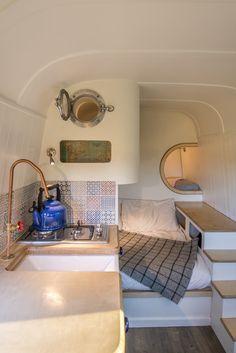 Gallery of the sprinter camper van conversion built in Oxford, England.