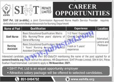 Jobs Description Nursing Assistant Jobs in Islamabad 2021 at SIHT Pvt Ltd has been announced through the advertisement and applications from the suitable persons are invited on the prescribed application form. In these shifa jobs 2021 the eligible Male/Female candidates from across the country can apply through the procedure defined by the organization and can ... Read more The post Nursing Assistant Jobs in Islamabad 2021 at SIHT Pvt Ltd appeared first on JobUstad.