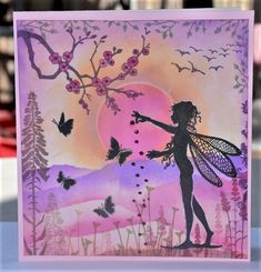 Kids Cards, Cards Diy, Lavinia Stamps Cards, Angel Cards, Card Tricks, Crafters Companion, Tampons, Fairy Art, Card Sketches