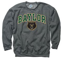 Baylor Bears Dark Heather Perennial II Crewneck Sweatshirt EUR 28.44 http://www.fansedge.com/Baylor-Bears-Dark-Heather-Perennial-II-Crewneck-Sweatshirt-_1910201182_PD.html?social=pinterest_pfid52-25423