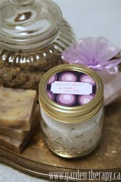 Soaps, Lotions, and Potions from the Garden - Garden Therapy (pinner writes)