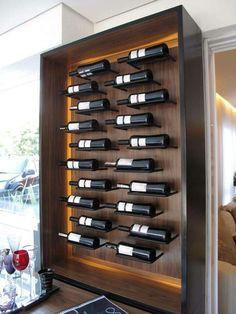 wine rack, wine storage, wood
