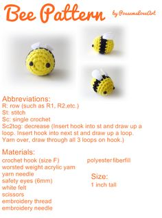 Bee Pattern...cute