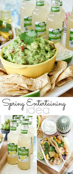 Plan the perfect Spring  or Cinco de Mayo party at home. #ZestyInADash