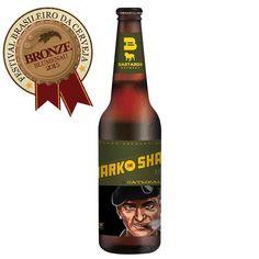 Cerveja Bastards Mark The Shadow, estilo Oatmeal Stout, produzida por Bastards Brewery, Brasil. 6.5% ABV de álcool.