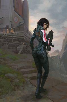 Mass Effect,фэндомы,John Zoro