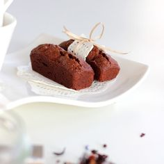 Financiers chocolat - Blé Noir Sans Gluten Gluten Free Diet, Gluten Free Baking, Brownie Cake, Brownies, Patisserie Sans Gluten, Truffles, Good Food, Pudding, Ice Cream