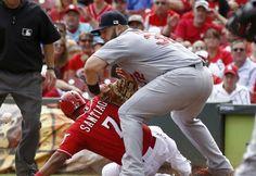 St. Louis Cardinals vs. Cincinnati Reds, April 10: Live Stream, Start Time, TV ... Cincinnati Reds  #CincinnatiReds