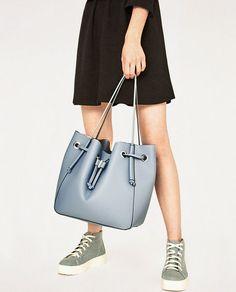 8b23a302c9ac ZARA - WOMAN - CONVERTIBLE BUCKET BAG Zara Bags