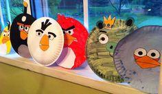 IMG_3455. Angry bird craft http://www.evanhaslanded.com/tag/angry-bird-preschool-activities/#