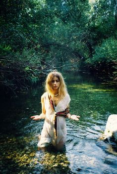 You cross the river to discover a truth