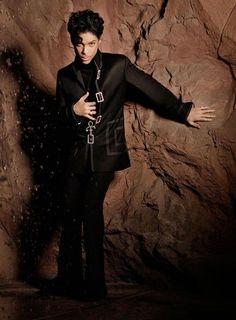 Prince in black