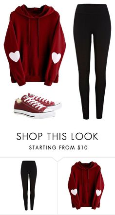 """Untitled #106"" by ejeffrey3 on Polyvore featuring River Island and Converse"