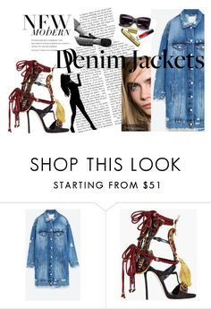 """""""Sin título #59"""" by jimenabulgarelli ❤ liked on Polyvore featuring Jakke and Dsquared2"""
