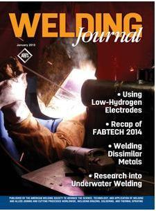 Título: welding Journal / Autor: American Welding Society / Año 2015 / Código: REV/671.52/AWS/2/2015