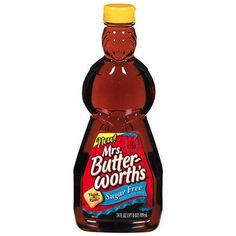 Mrs. Butterworth's Sugar Free Syrup, 24 fl oz - 1/4 c. serving- 1PP