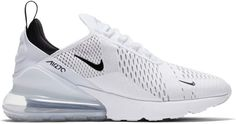Buy and sell authentic Nike Air Max 270 White Black shoes and thousands of other Nike sneakers with price data and release dates. Golf Shoes, Sports Shoes, White Nike Tennis Shoes, Nike Air Max White, Cute Nike Shoes, Golf 7 R, Air Max 93, Puma, Nike Sportswear