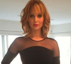 Jennifer Lawrences New Shag Haircut!