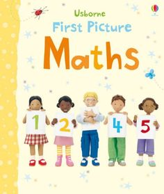 A bright and lively board book introducing young children to the basics of maths and numbers. The simple puzzles encourage little children to develop first number skills in a fun and interactive way.