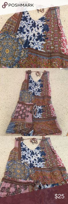 Zara romper! This patterned and lightweight romper is perfect for warm and sunny weather! Zara Other