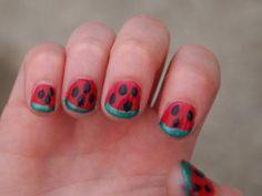Fruit Nail Art Inspirations for Short Nails | Spring Nail Designs