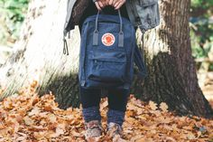 My Fjallraven Kanken Backpack in Graphite