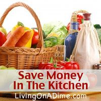 15 Tips to help you save money on groceries. You can cut your grocery bill with just a few easy steps that don't take any time at all!  Click here to get these money saving tips from Dining On A Dime Cookbook http://www.livingonadime.com/store/dining-on-a-dime-cookbook/ .
