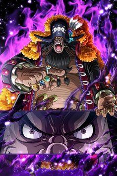 Manga Anime One Piece, One Piece Fanart, Anime Manga, One Piece Wallpaper, Blackbeard One Piece, Vexx Art, Luffy Gear 4, Akira, One Piece World
