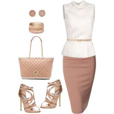 Untitled #833 by gallant81 on Polyvore featuring polyvore, fashion, style, Rochas, Doublju, Steve Madden, Love Moschino, Red Camel, Michael Kors and Linea Pelle