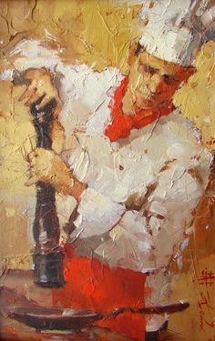 Can't describe how much I love this painting by Andre Kohn.