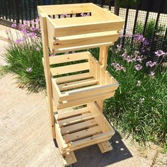 Pallet Fruit and Vegetable Stand