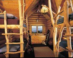 Great bunk room.