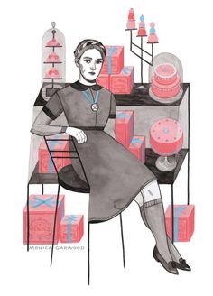 Stylish illustrations from Monica Garwood