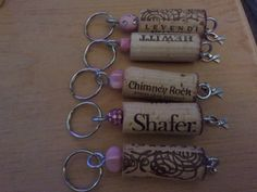 October is Breast Cancer Awareness Month Check out my Etsy store and buy your Breast Cancer Awareness key chain while supplies last!! http://www.etsy.com/shop/WineCorksNMore