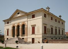 Villa Caldogno is a villa in the Veneto region of Italy, which is attributed to Andrea Palladio. It was built for the aristocratic Caldogno family on their estate in the village of Caldogno near Vicenza. The villa is not included in I Quattro Libri dell'Architettura, Palladio's treatise of 1570, in which the architect discussed a number of his creations. However, it is similar to certain villas, such as the Villa Saraceno, that Palladio is known to have created in the 1540s 1550s.