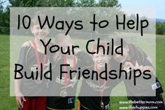 Making (and keeping!) friends can be hard work. Great relationships require a big investment of our time, attention and hearts. If you're looking for ways to help your kids navigate their social world and build lasting friendships, you don't want to miss this post today!