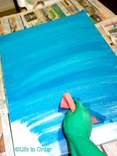 20 great canvas art projects you can do yourself create life in order diy beach themed canvas solutioingenieria Gallery