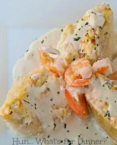 Shrimp and Crab Stuffed Shells